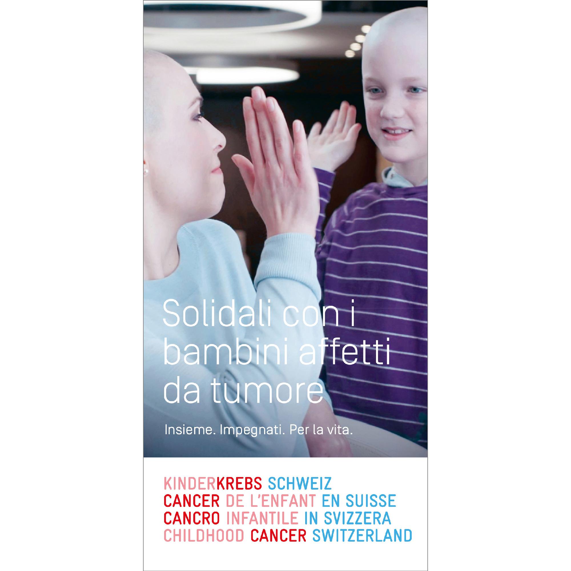 Broschüre Solidarisch mit krebskranken Kindern