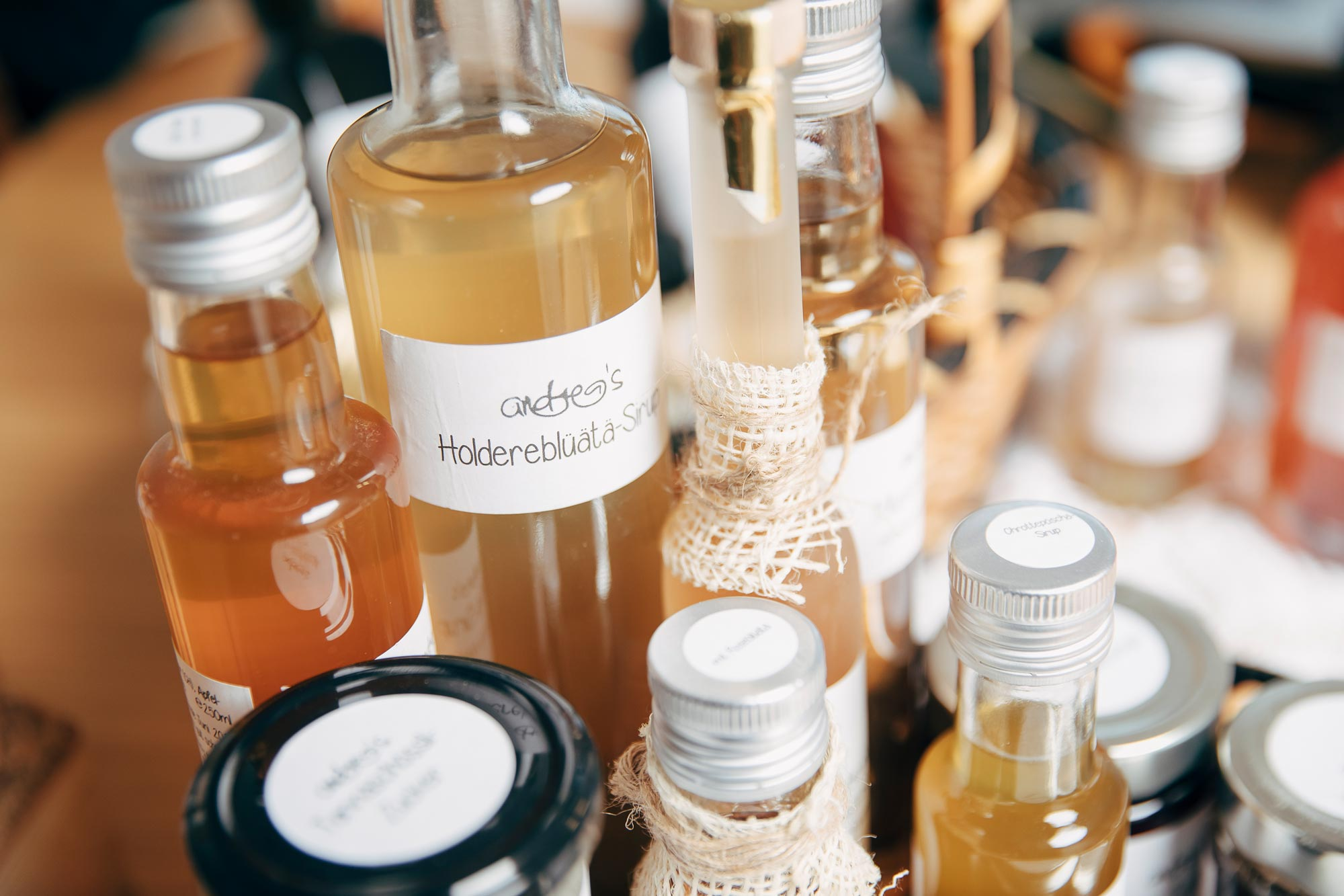 Homemade products from Andrea's manufactory