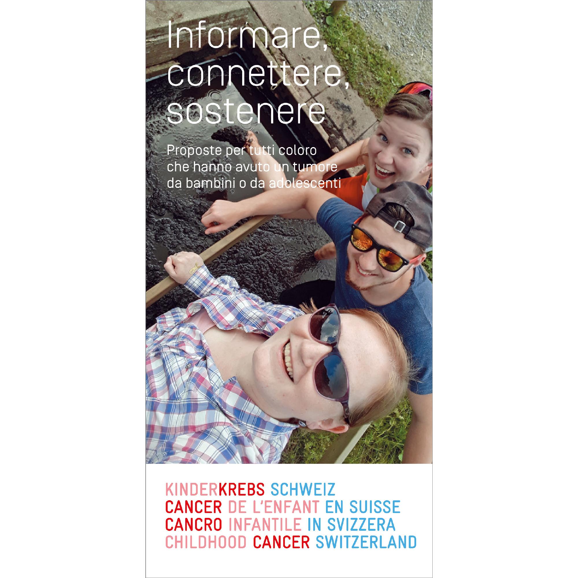 Broschüre Informieren, vernetzen, unterstützen