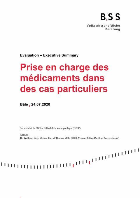 Évaluation de l'OFSP sur le remboursement des médicaments utilisés hors étiquette