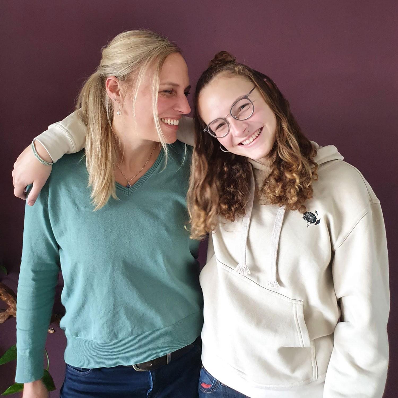 Porträt Susanne Mattle-Rohrer mit Tochter