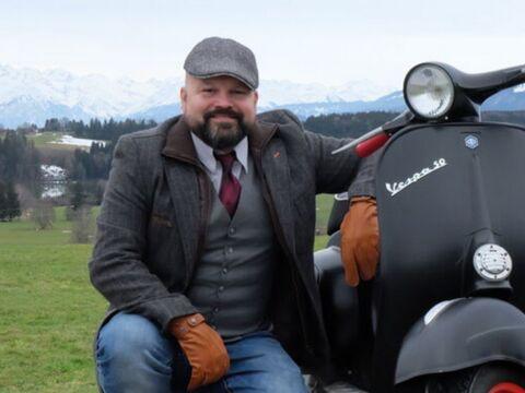 Voyage à travers l'Europe en Vespa