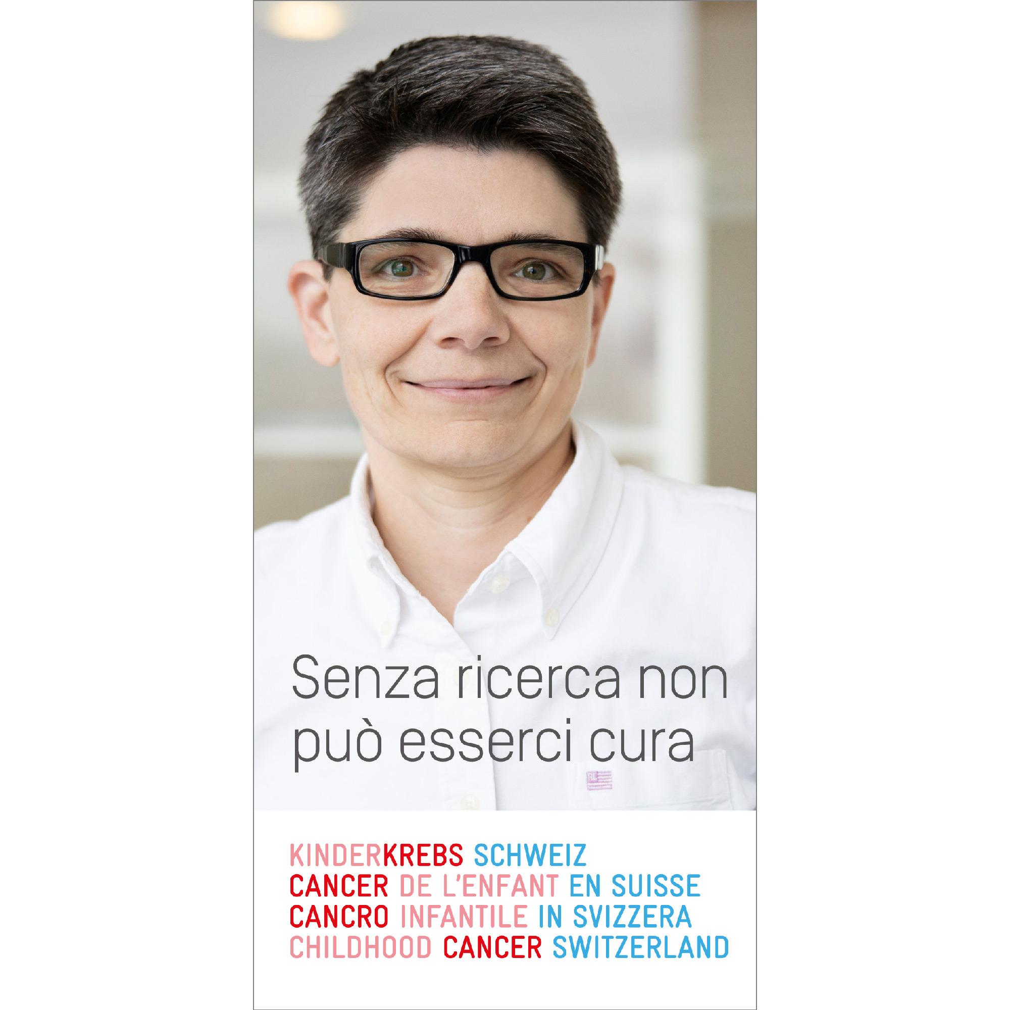 Broschüre Ohne Forschung keine Heilung